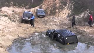 getlinkyoutube.com-Nissan Patrol utopiony - akcja ratunkowa:)