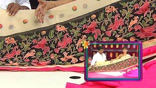 getlinkyoutube.com-Latest Collection of Party Wear Sarees | Sogasu Chuda Tarama | Vanitha TV