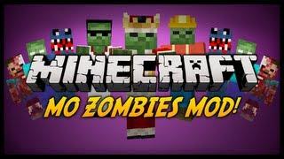 getlinkyoutube.com-Minecraft: Mody 1.4.7 - Mo' Zombies (Wiecej Zombiakow)