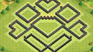 getlinkyoutube.com-Clash of Clans - BEST Townhall 9 Trophy/War Base (Terminus)