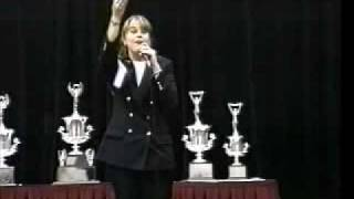 Renee Jones, CAI, AARE, BAS, CES, 1996 International Auctioneer Champion