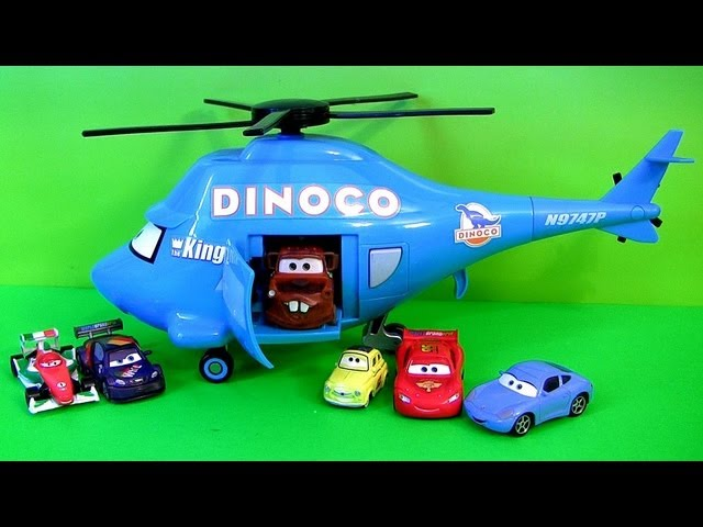Talking Dinoco Helicopter