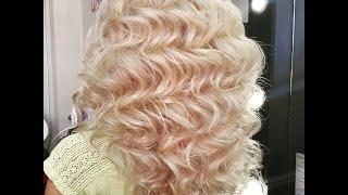 """getlinkyoutube.com-Голливудские локоны на длинный волос. Приглашение на курс """"Свадебные прически и укладки"""""""