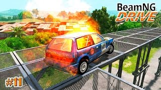 getlinkyoutube.com-BeamNG.drive ЖЕСТКИЕ ИСПЫТАНИЯ  (Crash test) 11 серия