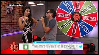 getlinkyoutube.com-Claudia Ramírez le subió la temperatura a LNEM con este juego
