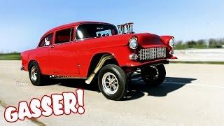 '55 STREET GASSER! 383 STROKER! DUAL QUADS! M22 ROCK CRUSHER! RT66 RACEWAY!