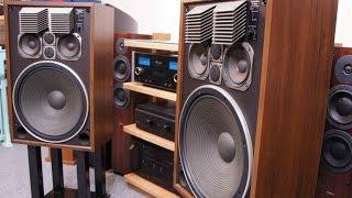 getlinkyoutube.com-Technics SB G500 speakers 4 way di Sbisa' Audiocostruzioni com