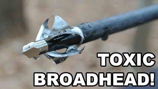getlinkyoutube.com-TOXIC Broadhead! Flying Arrow Archery's 6-Bladed Innovation