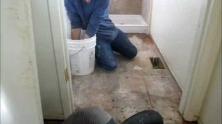 getlinkyoutube.com-How To Install Ceramic Tile Part 1: Subfloor Prep & Cement Board Installation