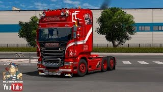 getlinkyoutube.com-[ETS2 v1.25] Scania RJL 2.01 Add-on *Weeda & Zeeuwse Trucker* + ALL DLC´s ready