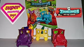 getlinkyoutube.com-Zomlings Series 3 Trains Blind Bags - The Hunt For The Gold Train Part 2 - Zomlings Serie 3 Trenes