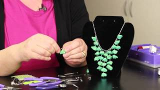 getlinkyoutube.com-Step-by-Step Directions for Making Stone Necklaces : DIY Jewelry & Necklaces