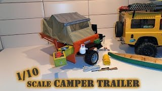 getlinkyoutube.com-build of a custom scale, 1/10, off road, camper, trailer