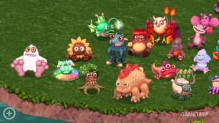 getlinkyoutube.com-My Singing Monsters: Dawn of Fire - All Monsters Full Continent Island!!