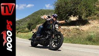 getlinkyoutube.com-Harley-Davidson Sportster Modelle 2016 | Test