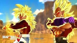 getlinkyoutube.com-TRUE SAIYAN GOGETA FUSION | Dragon Ball Xenoverse [Episode 45]