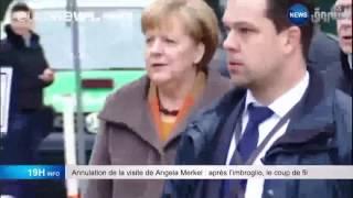 getlinkyoutube.com-Annulation de la visite de Angela merkel: aprés l'imbrologio, le coup de  fil