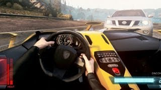 getlinkyoutube.com-Most Wanted 2012 Cockpit View Aventador J Police Chase
