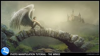 getlinkyoutube.com-The Wings - Photoshop Manipulation Effects Tutorial
