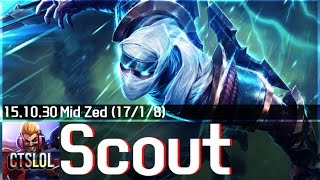 getlinkyoutube.com-518. Scout - 제드 하이라이트 / Zed Highlights