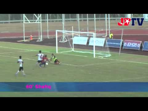 Piala Presiden : JDT B21 vs T-Team (Goal Highlights) 27 Feb 2014