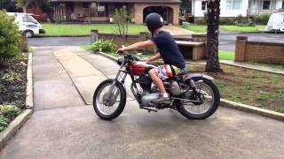 getlinkyoutube.com-Sam's Royal Enfield Bullet Bobber