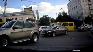 getlinkyoutube.com-Нексия Р156ВС (96) наглый водитель
