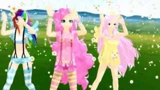 getlinkyoutube.com-[MMD] Caramell Dansen Para Para ver. - [My Little Pony]