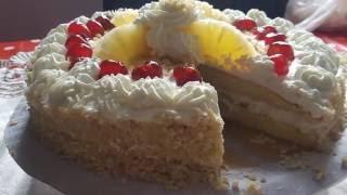 getlinkyoutube.com-recette gâteau d'anniversaire économique  (pas cher )