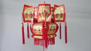 getlinkyoutube.com-CNY TUTORIAL NO. 54 - Traditional Hongbao Lantern 2
