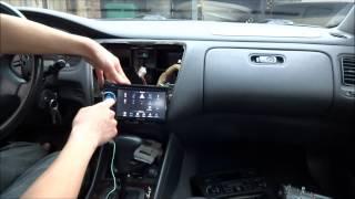 getlinkyoutube.com-How to Install Car Stereo (Pioneer AVH-2400 in 2000 Honda Accord)