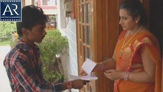 getlinkyoutube.com-Mallu Aunty with courier Boy   Kasitho Movie Scenes   AR Entertainments