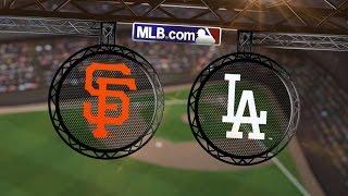 getlinkyoutube.com-9/24/14: Kershaw dominant, Dodgers win NL West title