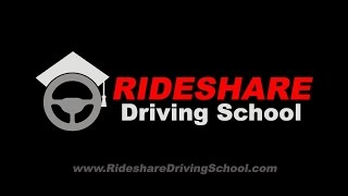 The Rideshare Driving school has launched. 25% off for first 50 sign ups. Code NEWYEAR50