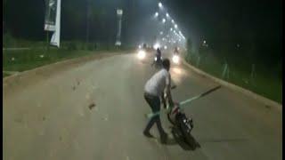 getlinkyoutube.com-Razia balap liar di Tangerang, polisi berhasil amankan 20 remaja - BIP 28/06