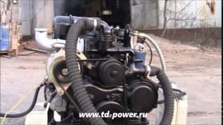 getlinkyoutube.com-Малолитражный дизельный двигатель QC380, 27 л.с.