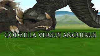 getlinkyoutube.com-Godzilla 2014 vs  Anguirus - 3D Animation