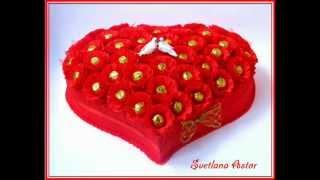 getlinkyoutube.com-Сладкие композиции из конфет в Риге