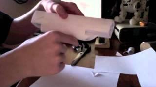 getlinkyoutube.com-How to make a paper uzi