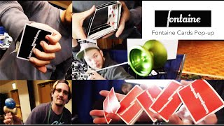 getlinkyoutube.com-Fontaine Cards Pop-up // cardistry // Franky Morales, Franco Pascali, Chris Severson, Michael James