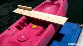 getlinkyoutube.com-How to make simple kayak motor mount under $50