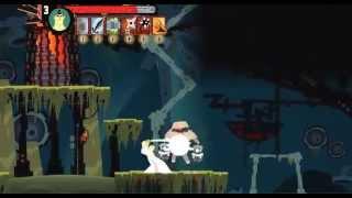 getlinkyoutube.com-Samurai Jack - Code of the samurai Flash game