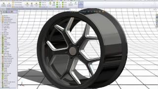 getlinkyoutube.com-SolidWorks Tutorial: 20'' Rim