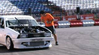 getlinkyoutube.com-Margaritis Racing Athens Tuning Show Live Arena September 2010 Gresse...!
