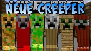 getlinkyoutube.com-70+ NEUE CREEPER! (Creeper Wither, Dragon, Giant und viele mehr!) [Deutsch]