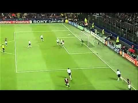 Milan - Manchester United 3-0 SkyHD Champions League 2-5-2007