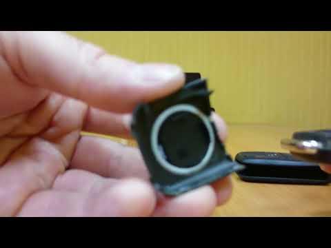 Замена батарейки в ключе (брелоке) SEAT Altea Freetrack
