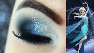 getlinkyoutube.com-Maquiagem Frozen - Christmas Makeup Tutorial