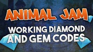 getlinkyoutube.com-ANIMAL JAM - DIAMOND AND GEM CODES 2016!