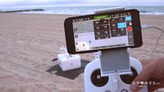 getlinkyoutube.com-DJI Phantom 3 First Flight and DJI Pilot App Overview HD